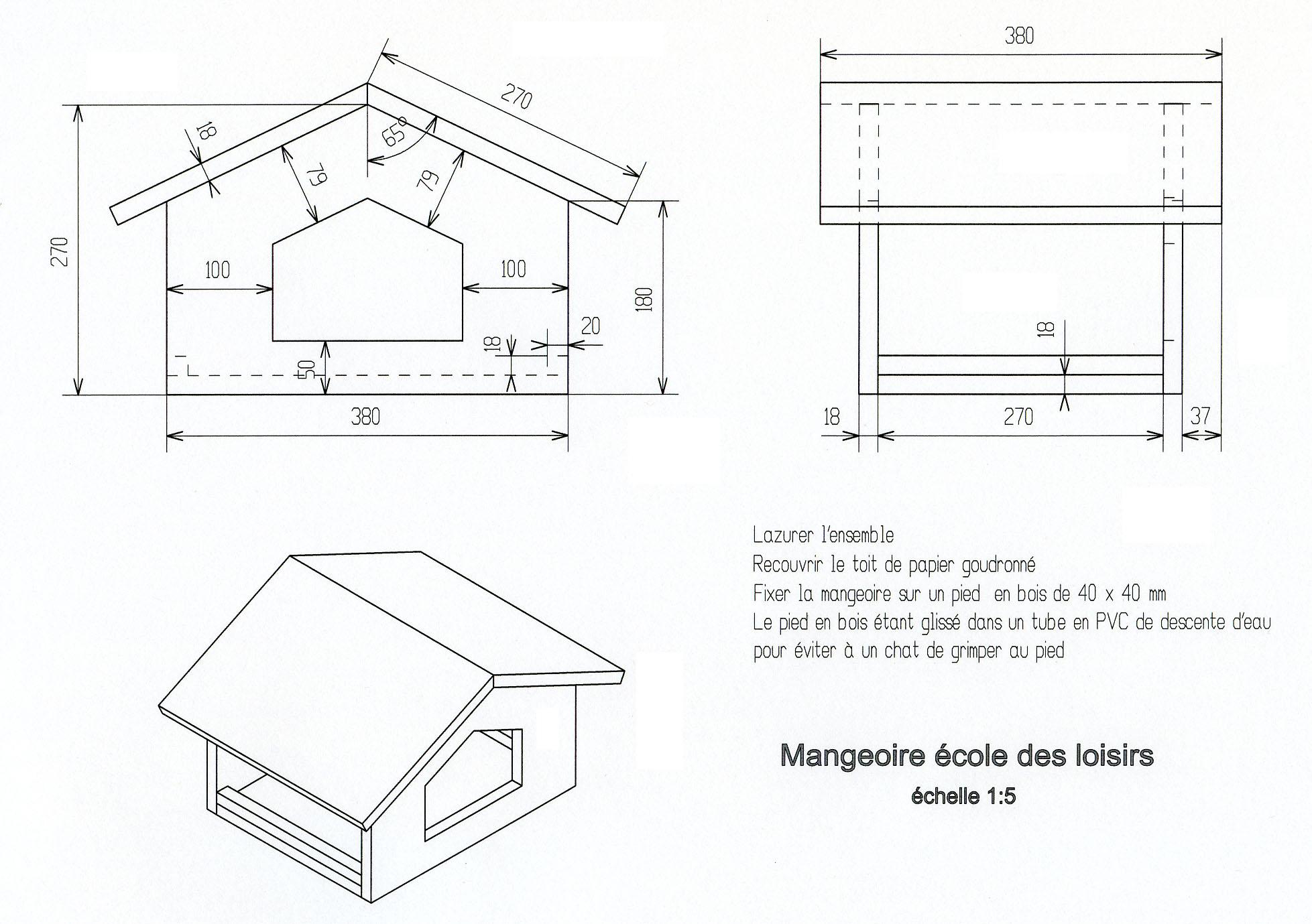 Nichores mangeoires - Livre de plan de maison ...